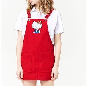 Sanrio Red Hello Kitty Overalls